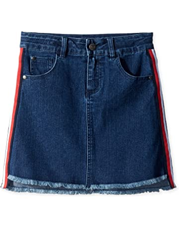 608122dd4f Tommy Hilfiger Girls' Denim Skirt