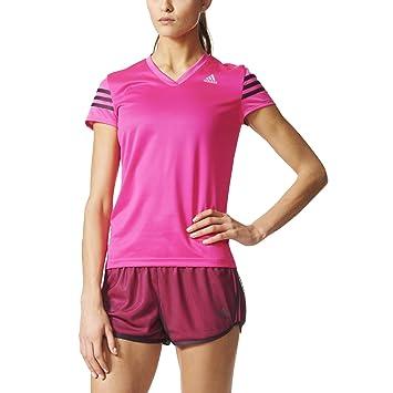 Camiseta adidas mujer rosa