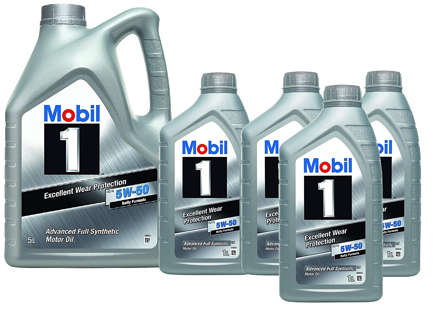 Mobil 1 Aceite Motor FS x1 5W50 - Pack 9 LTS Advanced Full ...