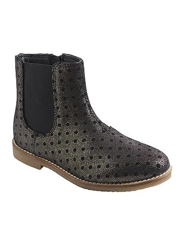 d50cf27b3666c Vertbaudet Boots Fille en Cuir Fantaisie  Amazon.fr  Chaussures et Sacs