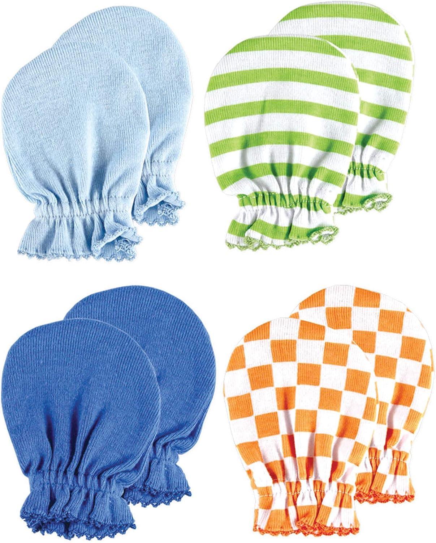 Luvable Friends Unisex Baby Cotton Scratch Mittens