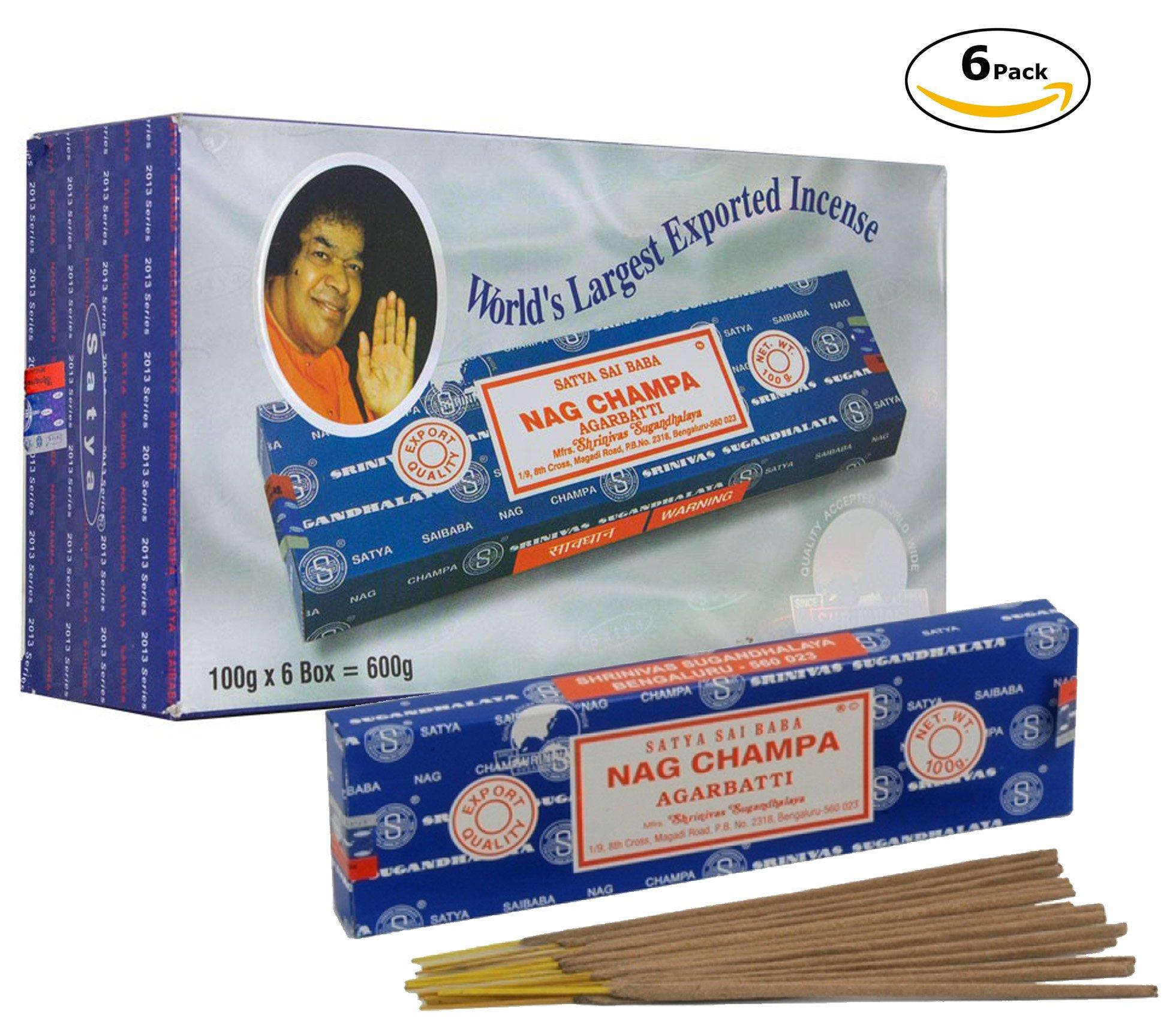 Satya Sai Baba Nag Champa (600 gram)