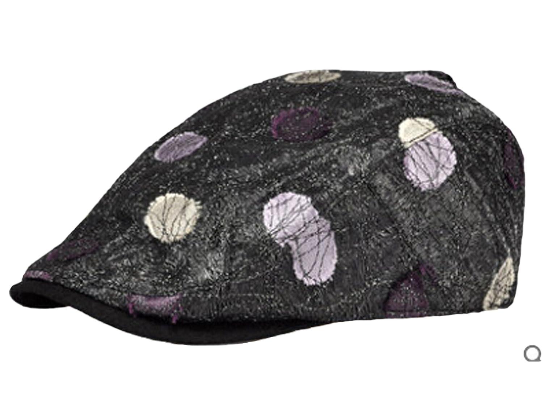 CSM Women's Cotton Lace Leisure Windproof Beret Hats