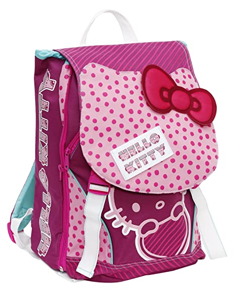 9ff0895877 Giochi Preziosi - Hello Kitty Zaino Scuola Estensibile: Amazon.it ...