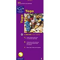 Carte routière : Togo