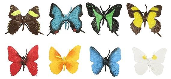 Safari Ltd. Schmetterlinge TOOB® 684504- 8x handbemalte ...