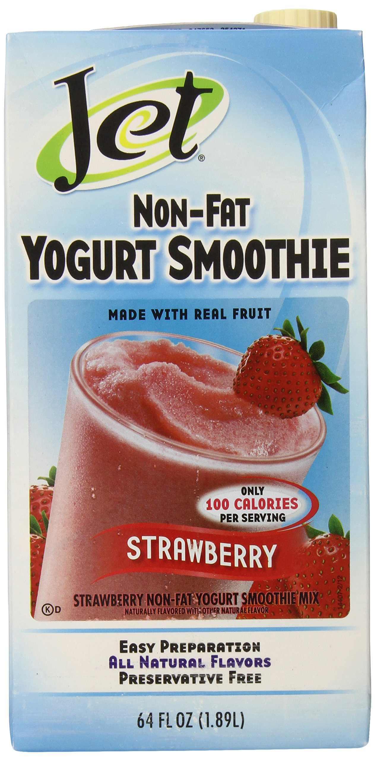 Jet Yogurt Smoothie, Strawberry, 64 Ounce