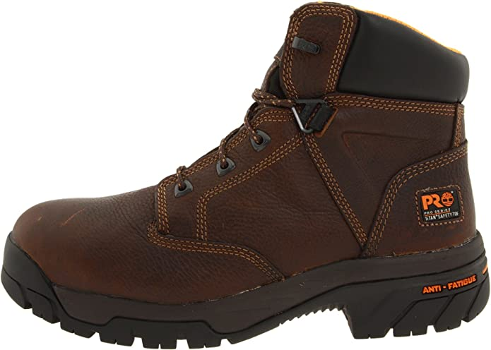 Timberland Pro Helix Hombre Piel Zapato de Trabaja, Brown, 40 EU: Amazon.es: Zapatos y complementos