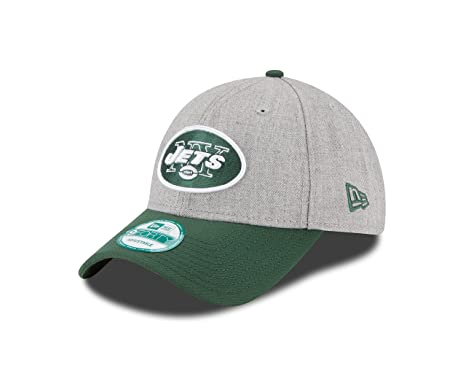 b5f7486ef NFL New York Jets The League Heather 9Forty Adjustable Cap, Heather, One  Size