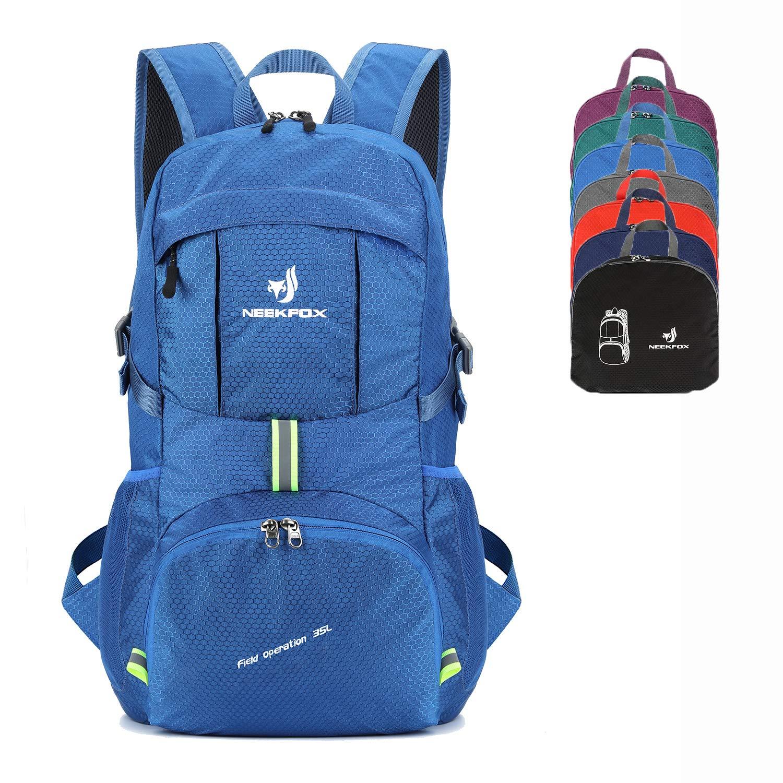 NEEKFOX Packable Lightweight Hiking Daypack 35L Travel Hiking Backpack for Women Men by NEEKFOX