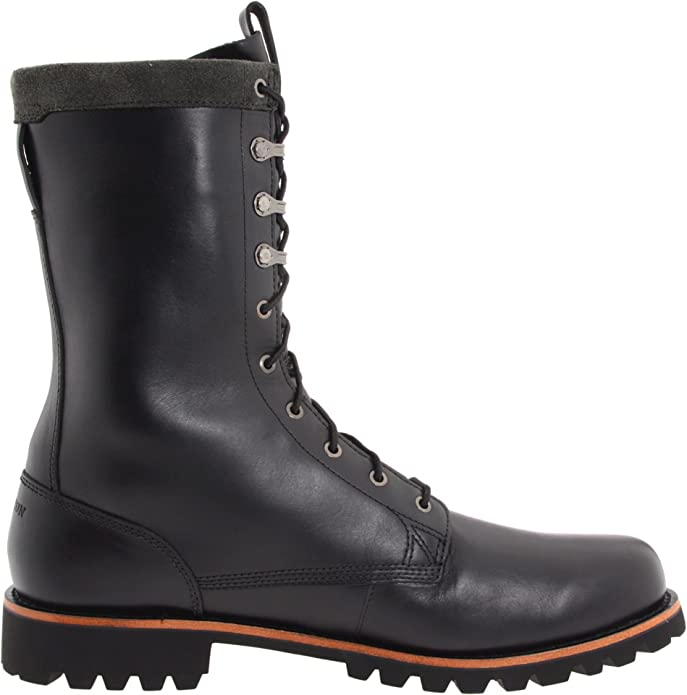 Timberland - Botas de Piel para Hombre Negro Negro, Color Negro, Talla 41.5: Amazon.es: Zapatos y complementos