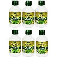 Jugo de aloe vera (500 ml) paquete de 6 superahorro