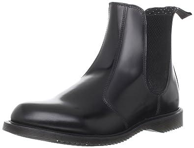 5523a68c72c Dr. Martens Women's Vegan Flora Chelsea Boot Chelsea Boot, Black ...