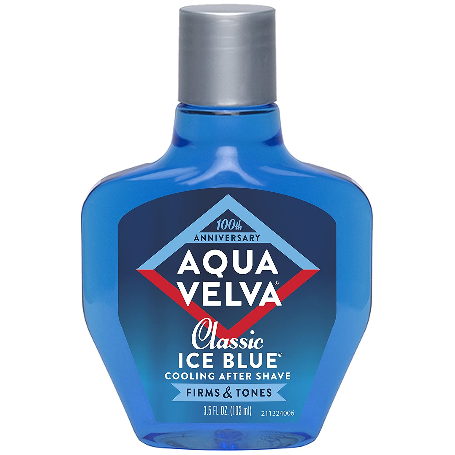 Aqua Velva After Shave, Classic Ice Blue, 3.5 Ounce by Aqua Velva Combe Inc. 011509211323