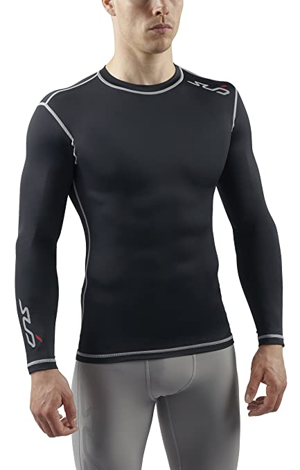 Amazon.com  Sub Sports Mens Long Sleeve Compression Top Base Layer ... 89725df89421