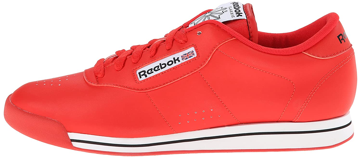 Reebok Women's Princess Sneaker B006W47U5G 10 B(M) US|Techy Red/White/Black