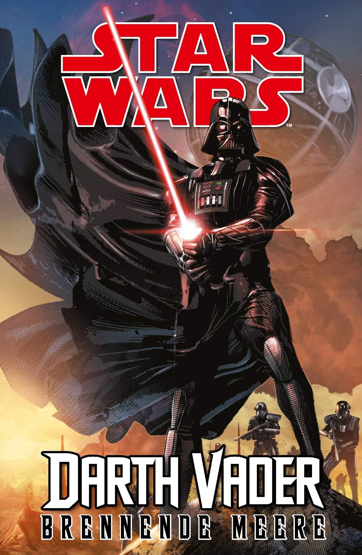 Star Wars Comics  Darth Vader  Ein Comicabenteuer   Brennende Meere