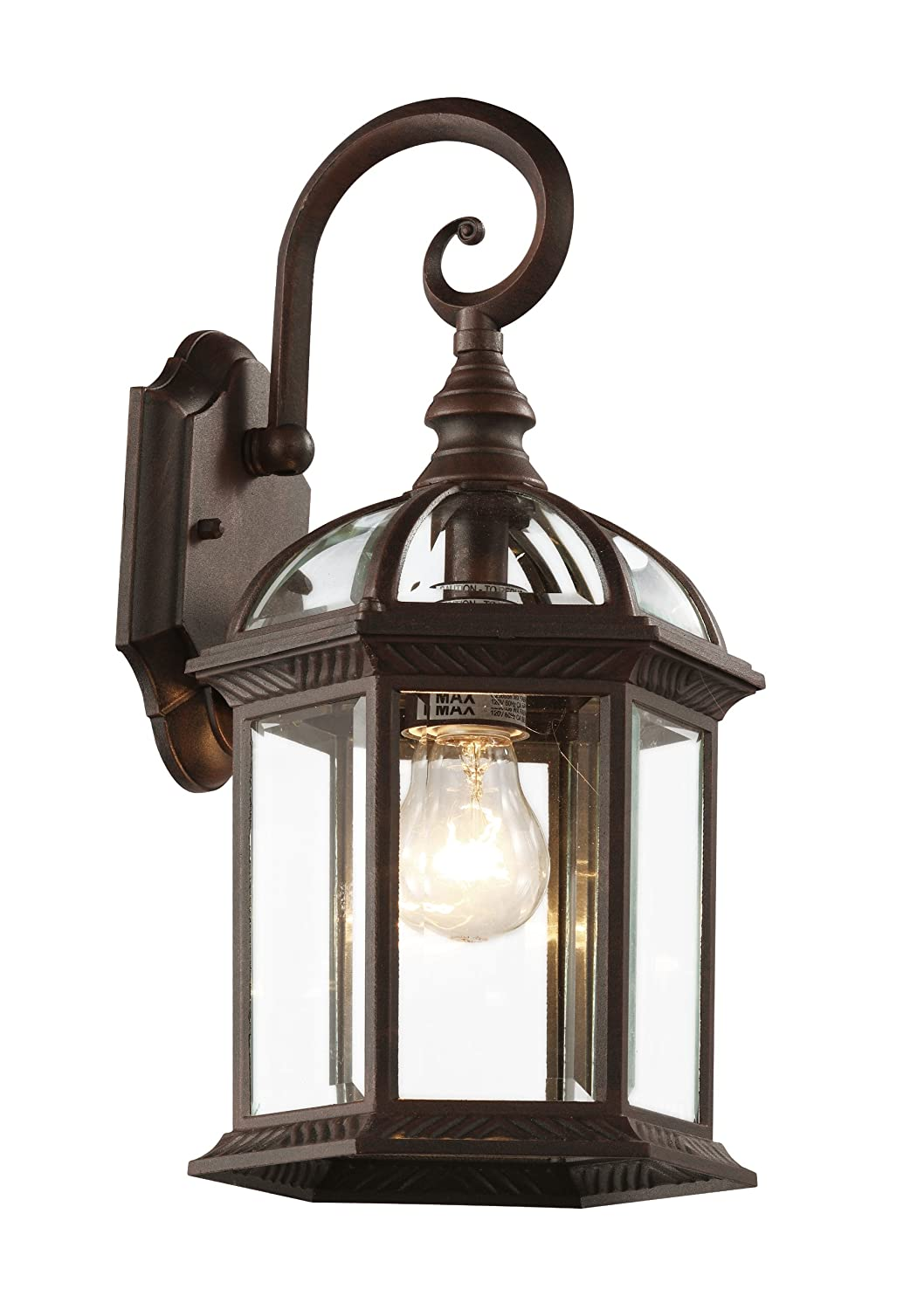 Trans Globe Lighting 4181 BK Outdoor Wentworth 15.75  Wall Lantern Black - Wall Porch Lights - Amazon.com  sc 1 st  Amazon.com & Trans Globe Lighting 4181 BK Outdoor Wentworth 15.75
