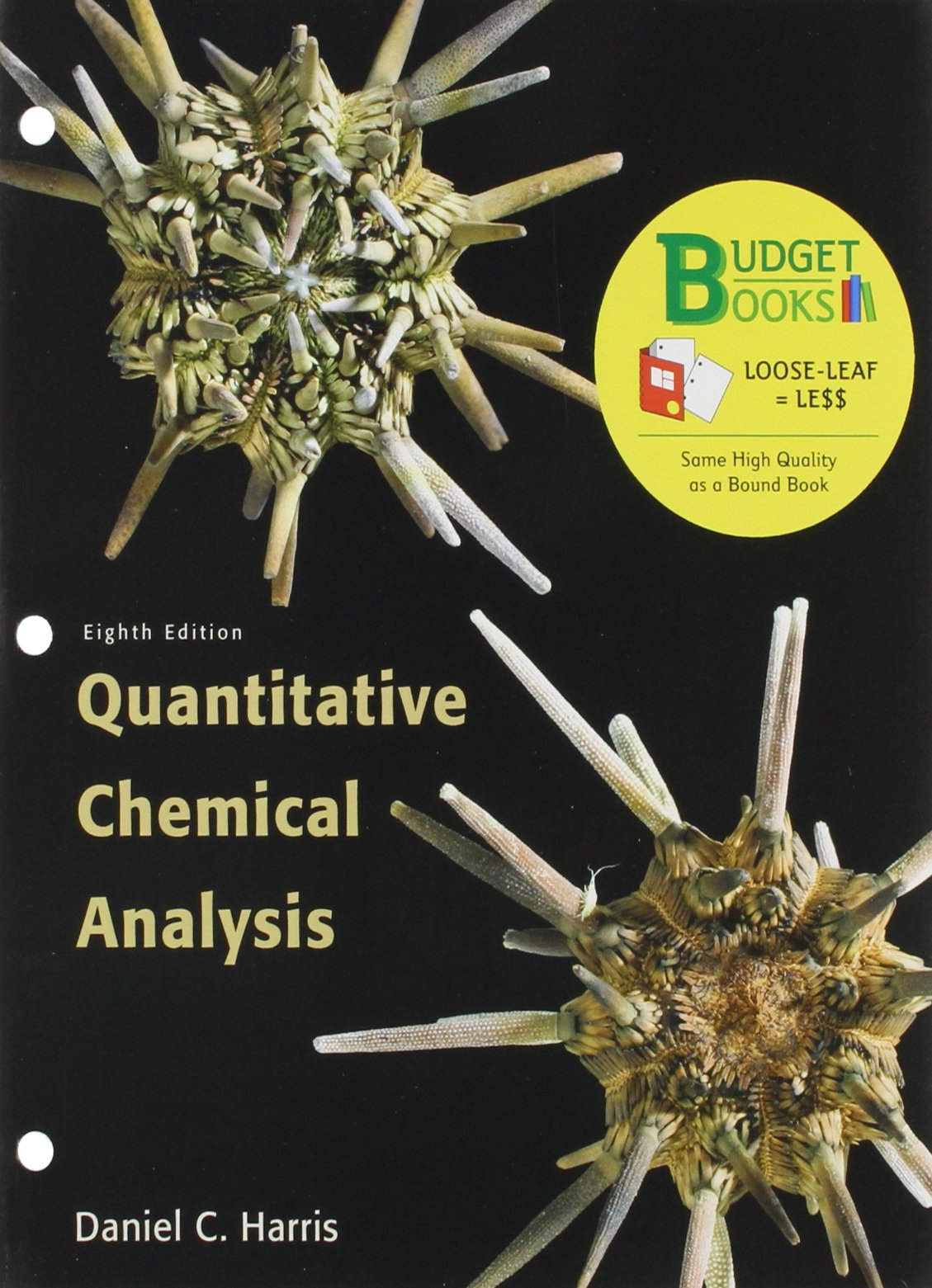 Read Online Quantitative Chemical Analysis Budget Book (Loose Leaf) & Premium WebAssign 6 Month Access Card pdf epub
