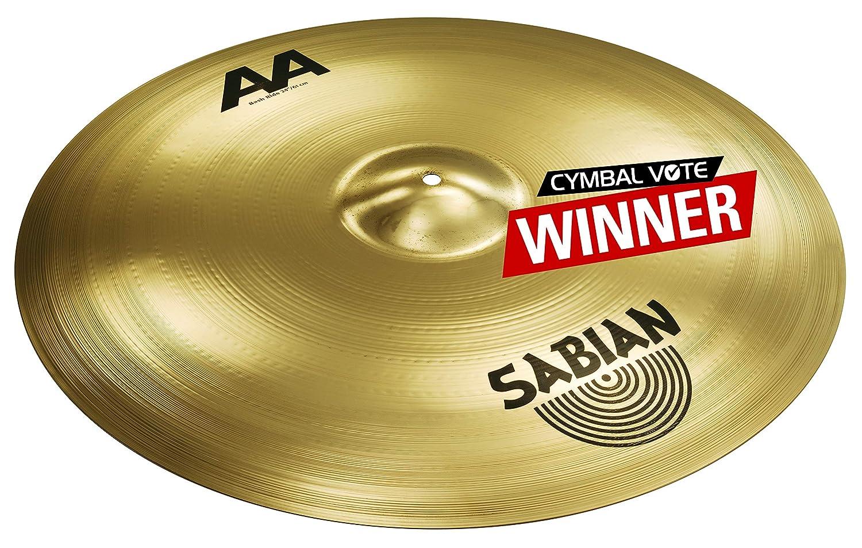 Brilliant Finish Sabian AA 24 Bash Ride Cymbal