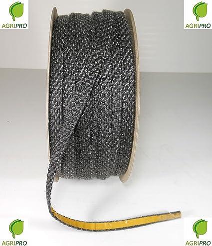 Agripro - Junta térmica adhesiva 550°, de 10 x 3 mm para cristal de estufas, chimeneas, hornos, etc.: Amazon.es: Hogar