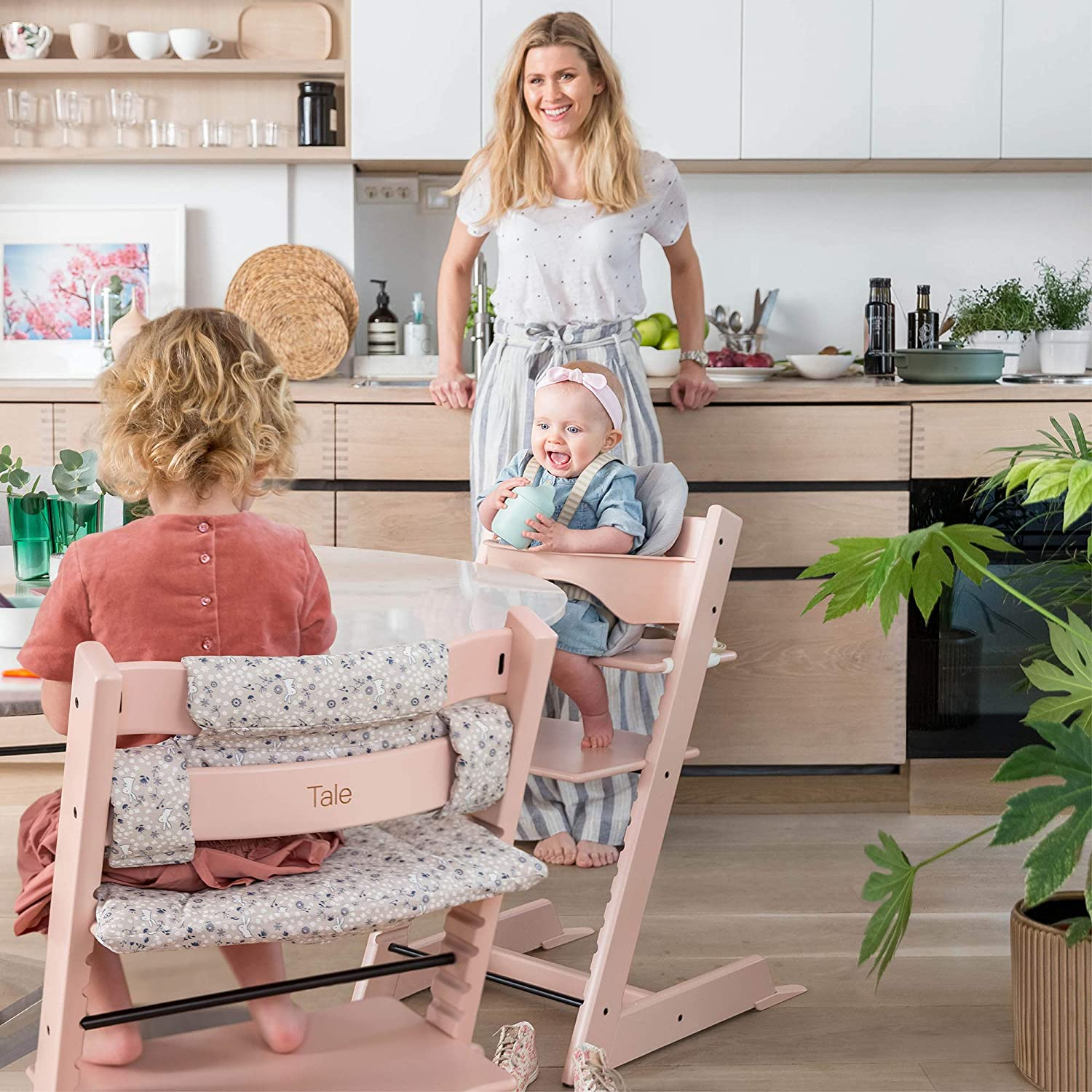 Tripp Trapp Adult Cushion for Adults High Chair Cushion for Tripp Trapp Chair Colour: Slate Twill
