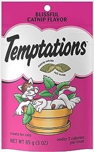 Temptations Classic Crunchy and Soft Cat Treats, 3 oz.