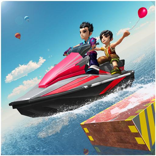Kids Jet Ski Water Simulator (Jet Boat Racing)