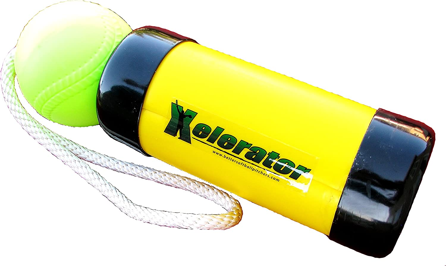 The Ultimate Xelerator Fastpitch Softball Pitching Training Aid And Warm Up T...