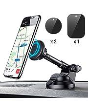 Soporte Móvil Coche Magnético, Universal Soporte Smartphone Coche Car Mount con Brazo telescópico para iPhone