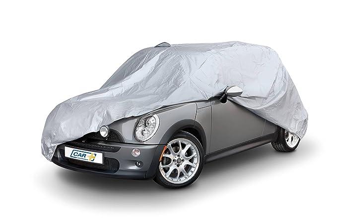 Funda exterior premium para Mini COOPER, impermeable, doble capa sintética y de finas trazas de algodón por el interior, transpirable para evitar la ...