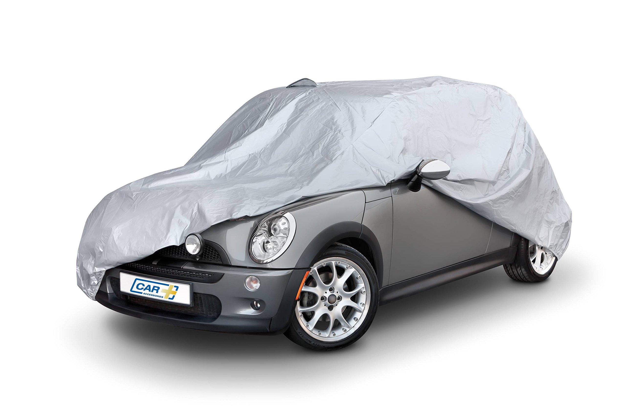Funda exterior premium para Mini COOPER, impermeable, doble capa sintética y de finas trazas