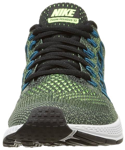 separation shoes 0265f c75f9 Nike Air Zoom Pegasus 32 Chaussures de Running Femme, Vert (Ghost Green  White-Black) 36.5 EU  Amazon.fr  Chaussures et Sacs