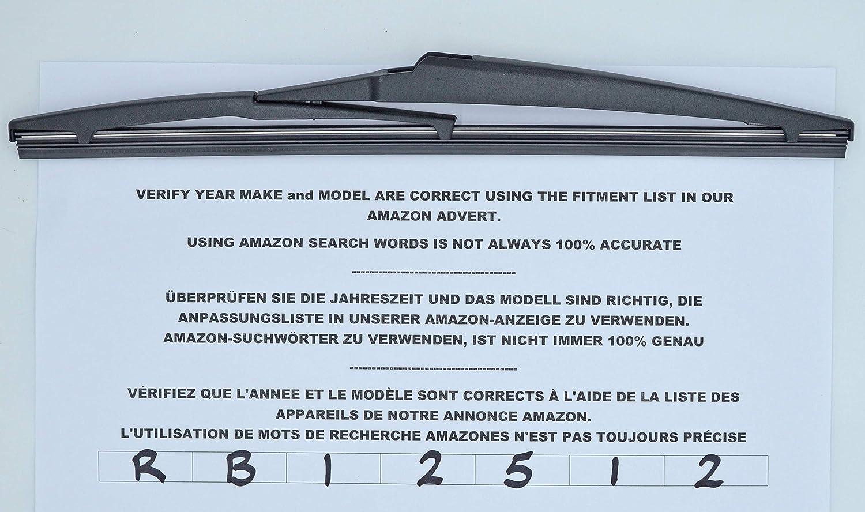 Limpiaparabrisas trasero de 30 cm RB12512