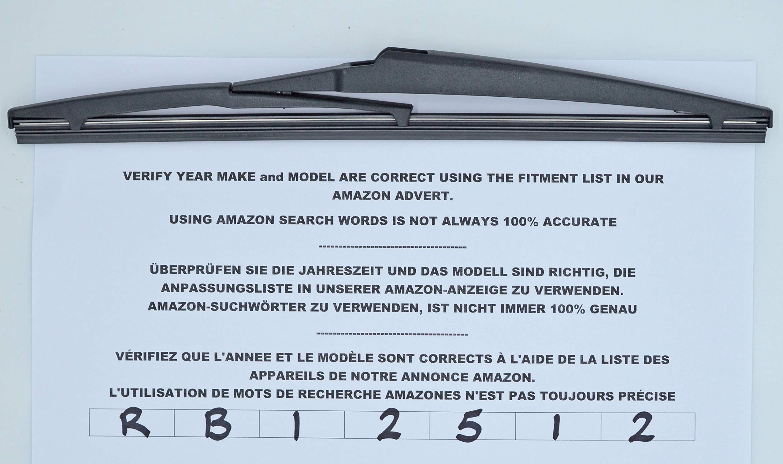 Limpiaparabrisas trasero de 30 cm RB12512 product image