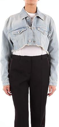 Givenchy BW006Q50AM Chaquetas Vaqueras Mujer Jeans Ligeros 40: Amazon.es: Ropa y accesorios