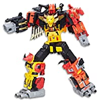 "Transformers - 18"" Decepticon Predaking Titan Class Figurine - Gnerations Power of The Primes - Collectors Edition - Ages 8+"