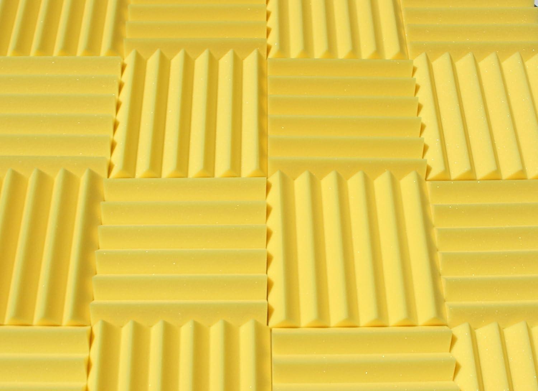 Amazon.com: Soundproofing Acoustic Studio Foam - Yellow Color ...