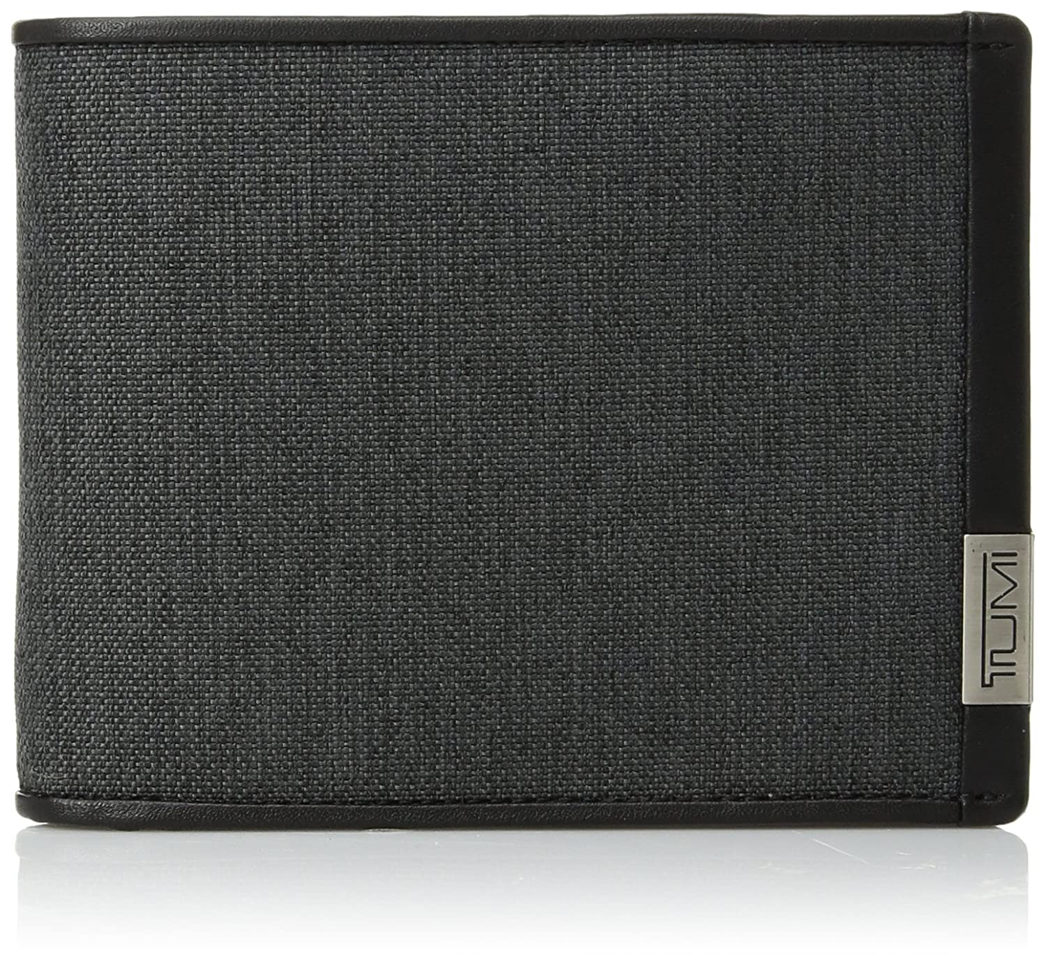 Tumi Men's Alpha Global Double Billfold Wallet with Rfid Blocking Tumi Men's Accessories 0119230DID