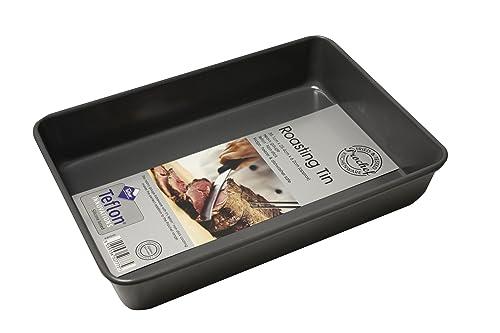 Prochef Prochef Medium Deep Roasting Tin Premium Quality Teflon Innovations Pure Silicone Coating