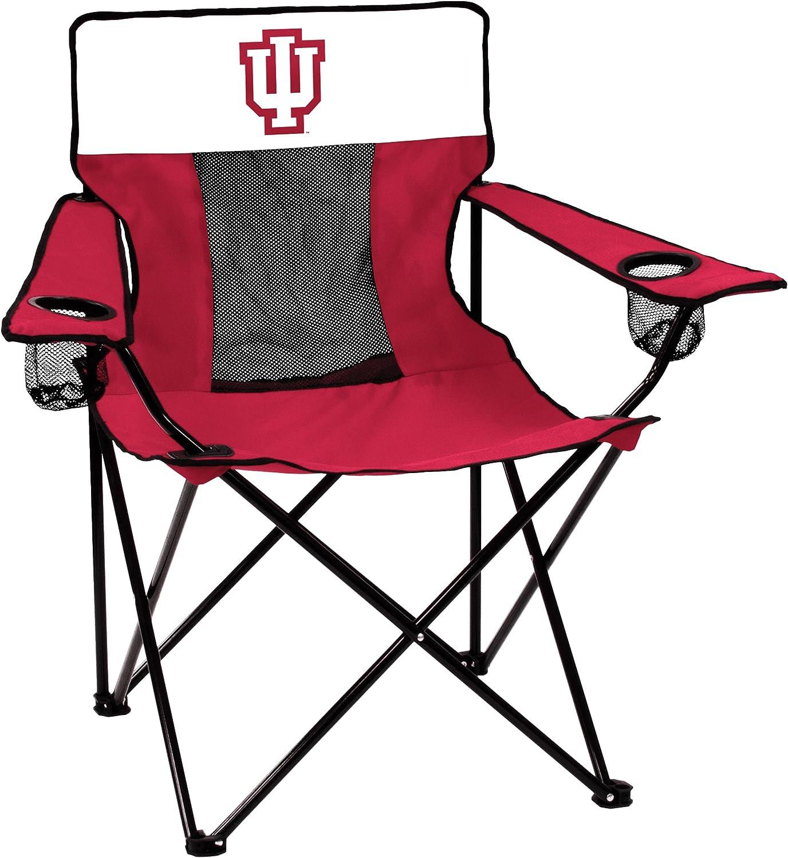NCAA Logo Brands Indiana Hoosiers Elite Chair, Team Color