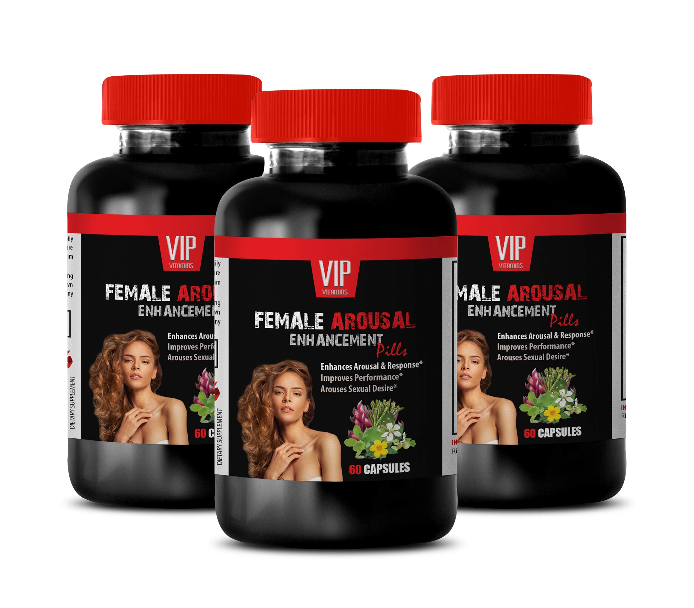 Sexual Enhancement for Women - Female Arousal Enhancement Pills - Dong quai for Fertility - 3 Bottles 180 Capsules