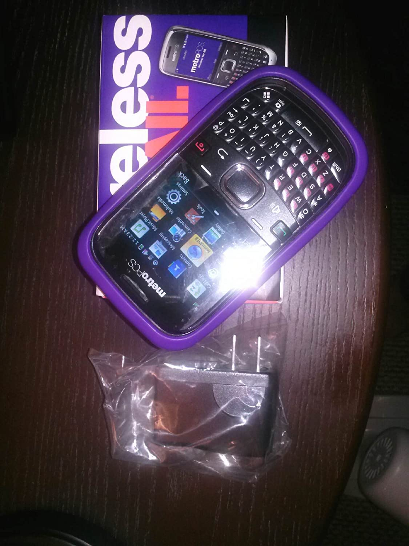 Huawei Pinnacle 2 QWERTY CDMA Cell Phone Black Metro PCS