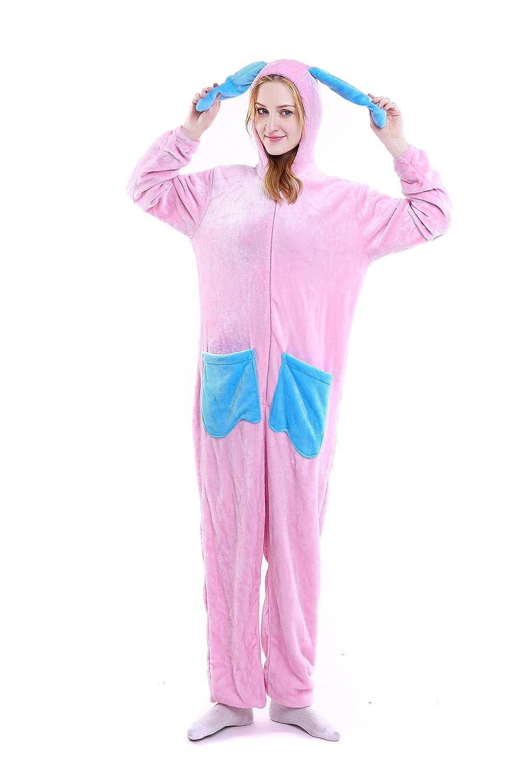 WDA Cartoon Rabbit Ears Bunny Animal Pajamas Rabbit costume