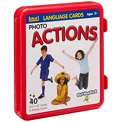 Lauri Photo Language Cards - Actions: Toys & Games