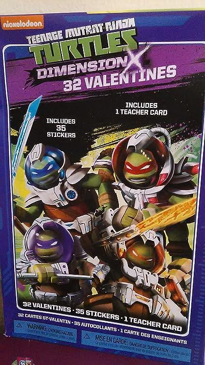 Teenage Mutant Ninja Turtles (TMNT) 32 tarjetas de San ...