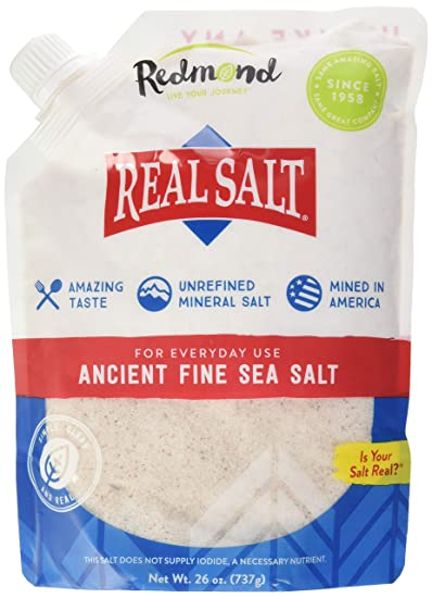 e419b745e4a5 Amazon.com   REDMOND Real Sea Salt - Natural Unrefined Organic ...