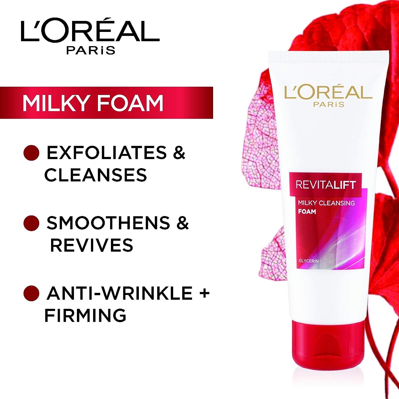 L'Oreal Paris Revitalift Milky Foam, 100ml: Amazon.in: Beauty