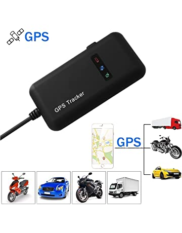 Hangang GPS Tracker, Localizador de Vehículo de Seguimiento en Tiempo Real GPS Locator para Coche