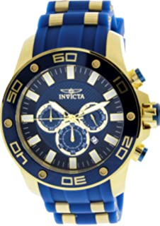 Invicta Pro Diver Chronograph Blue Dial Mens Watch 26087
